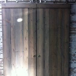 Barn Doors - Sliding barn door in Dry Brush by Timeline Wood