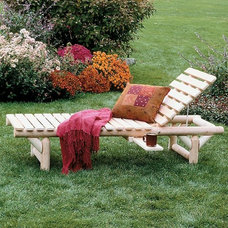 Traditional Outdoor Chaise Lounges by americancountryhomestore.com