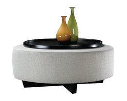 Thayer Coggin | Clip Round Table Ottoman -