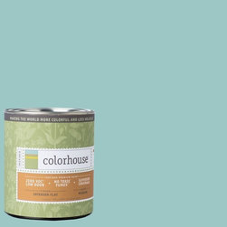 Inspired Flat Interior Paint, Dream .04, Quart - Colorhouse paints are zero VOC, low-odor, Green Wise Gold certified and have superior coverage and durability. Our artist-crafted colors are designed to be easy backdrops for living. Colorhouse paints are 100% acrylic with no VOCs (volatile organic compounds), no toxic fumes/HAPs-free, no reproductive toxins, and no chemical solvents.
