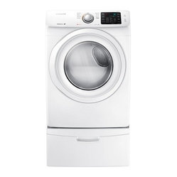 Samsung - DV42H5000EW 7.5 cu. ft. Front Load Electric ...