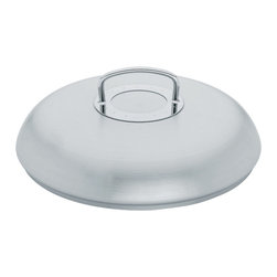 """Fissler - Original Pro Collection Frypan Lid, 11"""" - """"Originally developed by professionals for professionals, the Original Pro Collection is the perfect cooking equipment for everyone who values uncompromising quality, attractive design, and superior functions. It is a design classic and international best-seller made from heavy gauge, hygienic 18/10 stainless steel and its beautiful brushed stainless steel finish provides the ultimate resistance to water spots, staining, and scratching. Professional cooks from around the world have been using this cookware for over 30 years, and even Nigella Lawson finds its looks and durability help her to be a """"""""Domestic Goddess""""""""."""