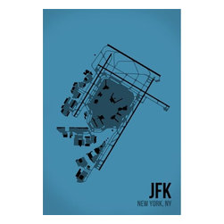 08 Left - 008 Left JFK - New York City Metal Print - As good as it gets. Ready to hang. Absolutely stunning and tough as rocks.