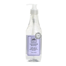 The Good Home Company - Good Home Lavender Hand Soap - Good Home Lavender hand soap is formulated with natural, biodegradable ingredients and a soothing fragrance that pampers both you and your guests. Looks great on any countertop!   Biodegradable, Paraben-Free, Phosphate-Free, Sulfate-Free, Phthalate-Free, Cruelty-Free, 100% Vegan. 12 fl oz - Plastic Bottle   Directions: Use one pump for regular dirt or two pumps of soap for really dirty hands. Please rinse and recycle with your other plastics.  Caution: This product contains surfactants that can be a possible eye irritant. For eye contact, rinse with water for fifteen minutes. If irritation persists, call a physician. Keep out of children and pets reach. For external use only. Do not consume contents or reuse this bottle.  Ingredients: Water (Aqua), Aloe Barbadensis Leaf Extract, Lauryl Glucoside, Cocamidopropyl Betaine, Sodium Lauroyl Sarcosinate, Fragrance, Citric Acid, Phenoxyethanol, Caprylyl Glycol May Contain:  Blue 1, Yellow 5, Violet 2, Orange 4. Made in the USA.