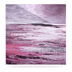 """Kess InHouse - Iris Lehnhardt """"Sea"""" Pink Metal Luxe Panel (10"""" x 10"""") - Our luxe KESS InHouse art panels are the perfect addition to your super fab living room, dining room, bedroom or bathroom. Heck, we have customers that have them in their sunrooms. These items are the art equivalent to flat screens. They offer a bright splash of color in a sleek and elegant way. They are available in square and rectangle sizes. Comes with a shadow mount for an even sleeker finish. By infusing the dyes of the artwork directly onto specially coated metal panels, the artwork is extremely durable and will showcase the exceptional detail. Use them together to make large art installations or showcase them individually. Our KESS InHouse Art Panels will jump off your walls. We can't wait to see what our interior design savvy clients will come up with next."""