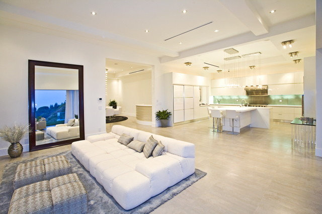 Modern Living Room by See Construction
