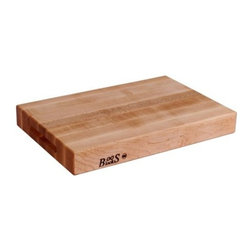 "John Boos - John Boos Reversible Edge Grain Cutting Board - 20x15x2.25"" - Maple - Your kitchen is the creative center of your home: It's where you test new recipes and cook up the most delicious dinners. From chopping herbs to kneading bread, this reversible cutting board provides ample space and the perfect surface for all your food prep needs."
