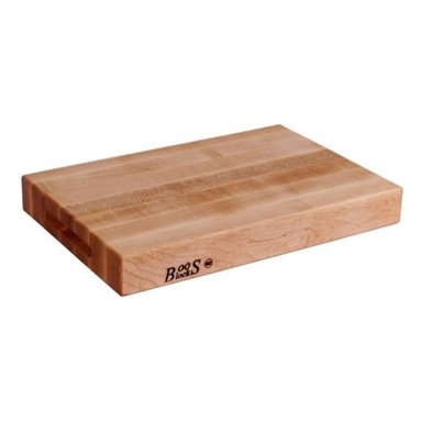 """John Boos - John Boos Reversible Edge Grain Cutting Board - 20x15x2.25"""" - Maple - Your kitchen is the creative center of your home: It's where you test new recipes and cook up the most delicious dinners. From chopping herbs to kneading bread, this reversible cutting board provides ample space and the perfect surface for all your food prep needs."""