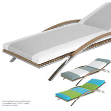 Contemporary Outdoor Chaise Lounges by NGO-PR