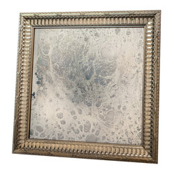 """Art Dallas, Incorporated - Art Dallas Antique Mirror - Haze - An Art Dallas handcrafted """"Haze"""" Antique Mirror framed with our Flash® molding."""