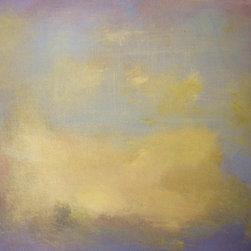 """Moonlight"" Artwork - Abstract, luminous colors"