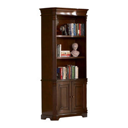 Coaster - Coaster Doyle Home Office Bookcase in Rich Brown Finish - Coaster Doyle Home Office Bookcase in Rich Brown Finish 800567