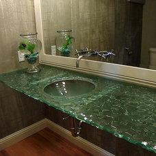 Contemporary Bathroom Sinks by Glassworks, Inc.