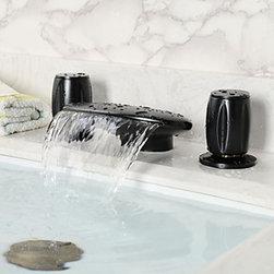 Bathtub Faucets - Vintage Style Oil-rubbed Bronze Two Handles Bathtub Faucet--faucetsmall.com
