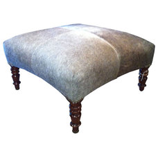 Traditional Footstools And Ottomans by Bonny Neiman