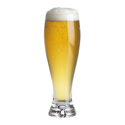 Direction 17 oz. Pilsner Glass - A full-bodied pilsner with curvaceous contours and thick sham base. Shape showcases the head of your favorite ale or lager. Design balanced to perfection.