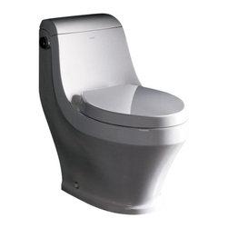 Fresca - Fresca Volna One-Piece Contemporary Toilet - Fresca Volna One-Piece Contemporary Toilet