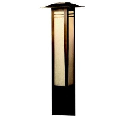 Outdoor Lighting Zen Garden Bollard Path Light by Kichler