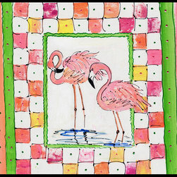 Caroline's Treasures - Bird - Flamingo Indoor Or Outdoor Mat 24X36 Doormat - Indoor / Outdoor Mat 24x36 - 24 inches by 36 inches. Permanently dyed and fade resistant. Great for the front door or the back door.  Use this mat inside or outside.    Use a garden hose or power washer to chase the dirt off of the mat.  Do not scrub with a brush.  Use the Vacuum on floor setting.  Made in the USA.  Clean stain with a cleaner that does not produce suds.