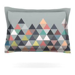 "Kess InHouse - Mareike Boehmer ""Nordic Combination"" Gray Abstract Pillow Sham (Cotton, 40"" x 20 - Pairing your already chic duvet cover with playful pillow shams is the perfect way to tie your bedroom together. There are endless possibilities to feed your artistic palette with these imaginative pillow shams. It will looks so elegant you won't want ruin the masterpiece you have created when you go to bed. Not only are these pillow shams nice to look at they are also made from a high quality cotton blend. They are so soft that they will elevate your sleep up to level that is beyond Cloud 9. We always print our goods with the highest quality printing process in order to maintain the integrity of the art that you are adeptly displaying. This means that you won't have to worry about your art fading or your sham loosing it's freshness."