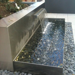 Elks Podium Project - Outdoor fountain feature, Fantasy Fountains, Inc.