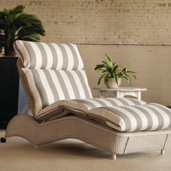 Lloyd Flanders Adjustable Chaise Lounge -