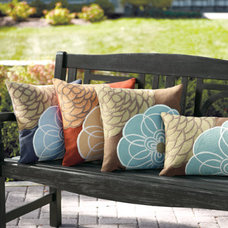 Traditional Outdoor Pillows by Grandin Road