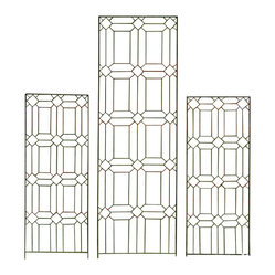 Diamond Trellis Set