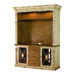 Entertainment Console Hutch, Dune and Beach