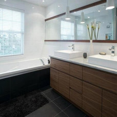 Contemporary Bathroom by GRANDIOR KITCHEN & BATH