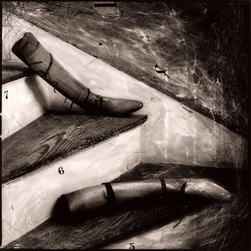 Seven, Six, Five - Original Fine Art Photography - A hauntingly, beautiful, toned silver-gelatin print. Award-winning photographer Carol Golemboski captures antiquated objects in carefully staged scenes. Her haunting still life imagery draws upon past eras to suggest human emotions and anxieties.