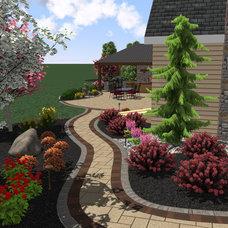 Modern  by Weavers Landscape Company