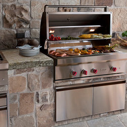 STUNNING Grills & BBQ Oven out of Antique Limestone (Mediterranean Style) - Images provided by 'Ancient Surfaces'
