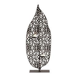 Cyan Design - Cyan Design 05621 Medium Tree Leaf Candleholder - Features: