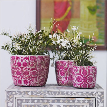 Eclectic Indoor Pots And Planters by Graham and Green