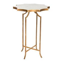 Aidan Gray - Aidan Gray Giusti Occassional Table with Marble Top Set of 2 F279 - Aidan Gray Giusti Occassional Table with Marble Top Set of 2 F279.