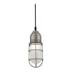 Barn Light Wire Guard Industrial Pendant -