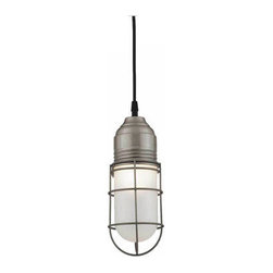 Barn Light Wire Guard Industrial Pendant -