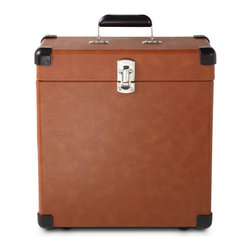 Crosley - Record Carrier Case - Tan - Temporarily out of stock.