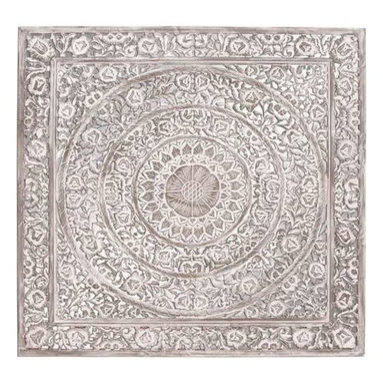 Benzara - Attractive Wooden Furniture Wall Panel with Exquisite Design - Attractive Wooden Furniture Wall Panel with Exquisite Design. This beautiful wall panel is easy install as well as maintain. It is intricately designed to exude a charming look to your interiors. Some assembly may be required.