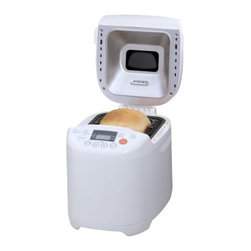 Nesco BDM-100 Classic Bread Maker - Homemade is a whole lot easier to make with the Nesco BDM-100 Classic Bread Maker in your kitchen. More than just a breadmaker this handy accessory features 12 digital programs for making multiple bread types cakes jams and pasta doughs and includes user-friendly functions such as crust control and delay and warming functions. About Nesco First debuting in the 1930's in Milwaukee Wisconsin Nesco made a name for itself with the Nesco Roaster. Electricity had just made its way to Wisconsin and when a couple engineers started experimenting the idea of the portable oven was born. Nesco eventually joined efforts with the utility company going from farm to farm throughout Wisconsin selling not only electric service but the new Nesco Roaster Oven as well. The product went through several upgrades and revisions over the years eventually being sold throughout the United States and Canada. Since then Nesco has moved on to other small kitchen appliances like food dehydrators meat grinders and slicers.