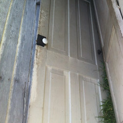 Selma, AL 1890 house deconstruction Everything here is for sale - Antique Heart Pine Door, Circa 1890 ,Donnie Peek