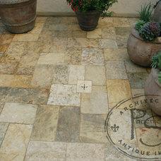 Mediterranean Floor Tiles by Phoenician Stone