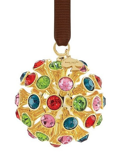 Eclectic Christmas Ornaments by kate spade