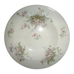 Haviland - Haviland Apple Blossom (No Gold Trim) Rim Soup Bowl - Haviland Apple Blossom (No Gold Trim) Rim Soup Bowl