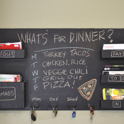 Large Mail Organizer Chalkboard - **FEATURED ON DIY's I WANT THAT!**