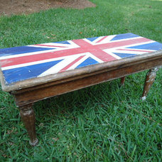 Eclectic Accent And Storage Benches by Etsy