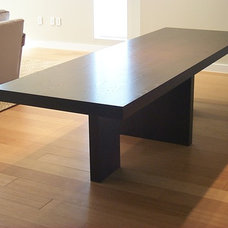Contemporary Dining Tables by Sherman & Gosweiler Inc.,