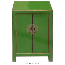 Eclectic Nightstands And Bedside Tables by Golden Lotus Antiques