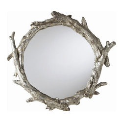 Oakley Goldberg Tree Branch Wall Mirror - This magnificent creation looks like it belongs in a woodland cottage, but we're pretty sure it would look equally as beautiful hanging on a wall in our homes.